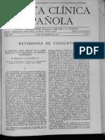 Artículo de la Clínica Española