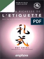 Andlauer Dominique - Vertu et richesse de l'étiquette dans les arts martiaux traditionnels japonais.pdf