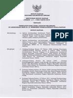 SK Bupati Tentang Penetapan Nama-nama Jabatan Pelaksana Di Lingkungan RSUD Kapuas
