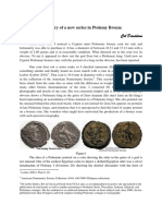 Col Davidson - Discovery of a New Series in Ptolemy Bronze With Pictures