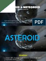 Asteroid & Meteoroid