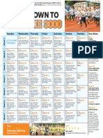 Awesome 3000 2019 training schedule