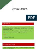 MICOSIS CUTANEA