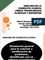 ANÁLISIS CONDUCTUAL CLINICO