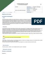 PLANIFICACION CLASE I PSICOLOGIA Y FILOSOFIA 3° MEDIO