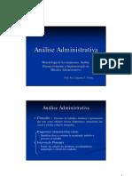 Aula Análise Administrativa