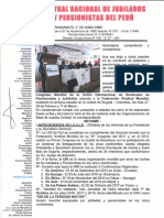 Informe II Congreso Mundial de la UIS de Jubilados y Pensionistas - UIS PyJ de la FSM