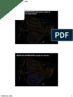 Redes de Urbanizacion AP Análisis de Loteo 2010