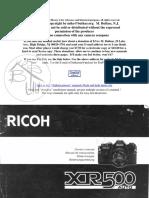 RICOH XR500 MANUAL.pdf