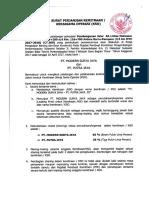1. Perjanjian KSO CT.309