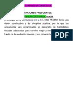 Reglamento Interno 2019-Semana Planificacion