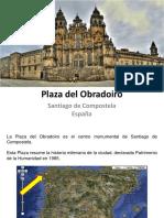 CMA Plaza Del Obradoiro Con Escritos
