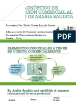 Presentación Diagnóstico de Penetración Comercial Al Mercado de Arabia
