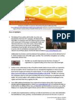 Healthy Bees Quarter 5  Newsletter Oct10