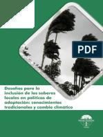 Memorias Desafíos Inclusión de Saberes Locales en Estrategias de Adaptación_FINAL