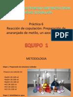 Bitacora Organica 3 Practica 6 Equipo 1