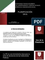 Unidad 1 Planificación