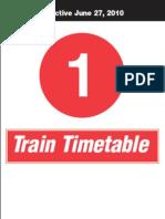 Subway Schedule