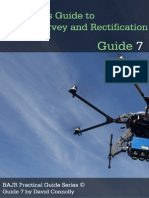 Aerial Photography and Manual Image Rectification