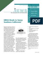 URISA News May/ June 2009