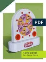 Roleta Balcao Sem Bateria