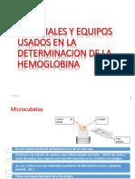 Procedimiento Para Determinar La Hemoglobina