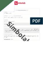 Symbolab - Solutions