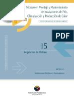 Instalaciones Eléctricas y Automatismos u5 - Regulación de Motores