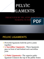 Diameters and Ligaments of Pelvic