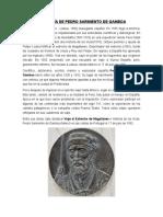 Biografía de Pedro Sarmiento de Gamboa
