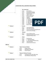 (3) Index Civil & Architectural
