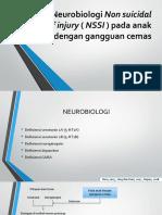 Hubungan Non Suicidal Self Injury ( NSSI )