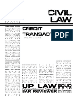 UP 2010 Civil Law Credit Transactions .p