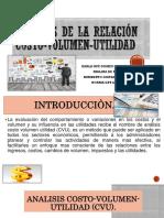 Analisis de la relacion Costo-Volumen-Utilidad