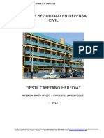 Plan de Contingencia y de Seguridad Cayetano Heredia