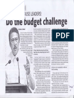 Daily Tribune, Mar. 12, 2019, Do the budget challenge.pdf