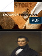 Sejarah Excavator