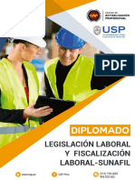 Legislacion Lab. y Fiscalizacion Lab. Sunafil-lima 240h. Presencial