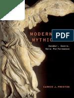 Modernism's Mythic Pose_ Gender, Genre, Solo Performance