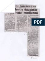 Peoples Journal, Mar. 12, 2019, President's daughter backs legal marijuana.pdf