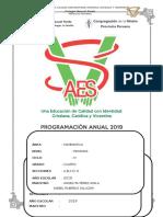 Programación Anual 2019