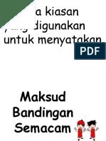 BANDINGAN-SEMACAM