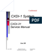 Canon CXDI-31 X-Ray - Service manual.pdf