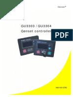 GU3303/GU3304Genset Controller Operation Manual