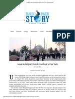 Langkah-langkah Mudah Membuat E-Visa Turki