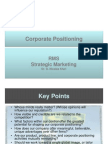 Corporate Positioning