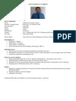 CV Adnan Matematika
