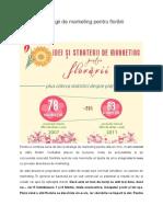 10 Idei Și Strategii de Marketing Pentru Florării