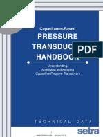 Setra Pressure Transducer Handbook