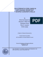 High strength reinf bars in seismic resistant T concrete walls.pdf